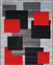 2041 Grey/Red