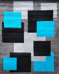 2041 Grey/Turkus